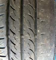 Tyre damage caused by excessive wheel camber